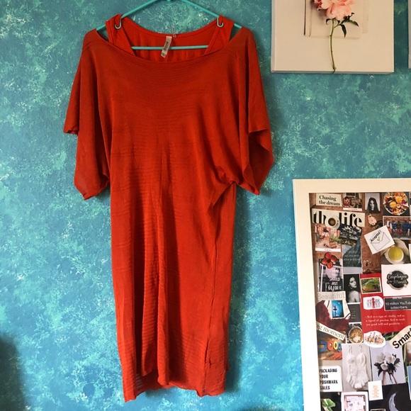 Miilla Clothing Dresses & Skirts - Orange double dress.